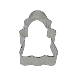"Gingerbread Girl 3"" Tinplated Steel Cookie Cutter"