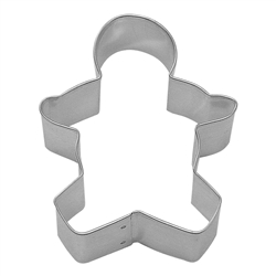 "Gingerbread Boy 3.5"" Tinplated Steel Cookie Cutter"