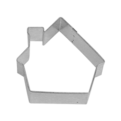 "Gingerbread House 3"" Tinplated Steel Cookie Cutter"