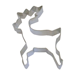 "Reindeer 4"" Tinplated Steel Cookie Cutter"