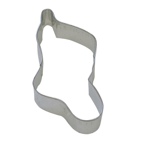 "Christmas Stocking 4.5"" Tinplated Steel Cookie Cutter"