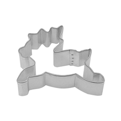 "Reindeer 3"" Tinplated Steel Cookie Cutter"