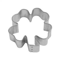 "Clover 2.75"" Tinplated Steel Cookie Cutter"