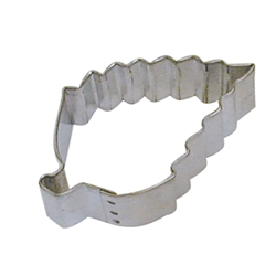 "Aspen Leaf 3.25"" Tinplated Steel Cookie Cutter"