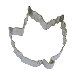 "Elm Leaf 3.5"" Tinplated Steel Cookie Cutter"