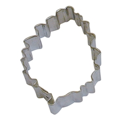 "Pine Cone 3.25"" Tinplated Steel Cookie Cutter"
