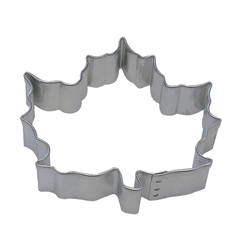 "Canada Maple Leaf 3"" Tinplated Steel Cookie Cutter"