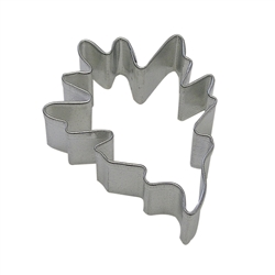 "Pin Oak Leaf 3.5"" Tinplated Steel Cookie Cutter"