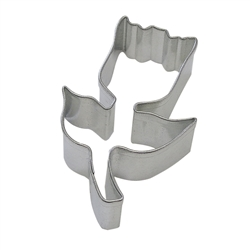 "Tulip 3.25 ""Tinplated Steel Cookie Cutter"