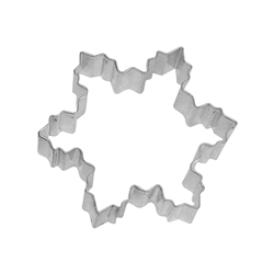 "Snowflake 4"" Tinplated Steel Cookie Cutter"