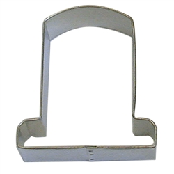 "Tombstone 3"" Tinplated Steel Cookie Cutter"
