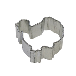 Mini Turkey Gobbler Tinplated Steel Cookie Cutter