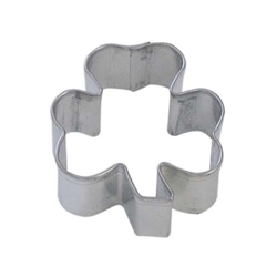 Mini Shamrock Tinplated Steel Cookie Cutter