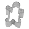 Mini Folk Gingerbread Boy Tinplated Steel Cookie Cutter