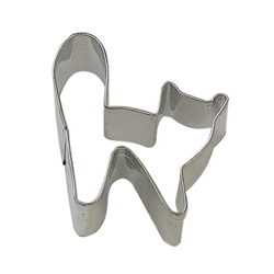 Mini Halloween Cat Tinplated Steel Cookie Cutter