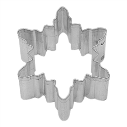 Mini Snowflake Tinplated Steel Cookie Cutter #2