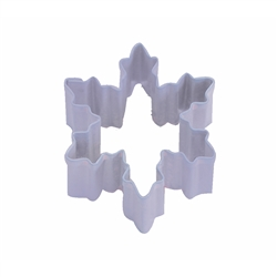 Mini Snowflake Polyresin Coated Cookie Cutter #3 Lavender