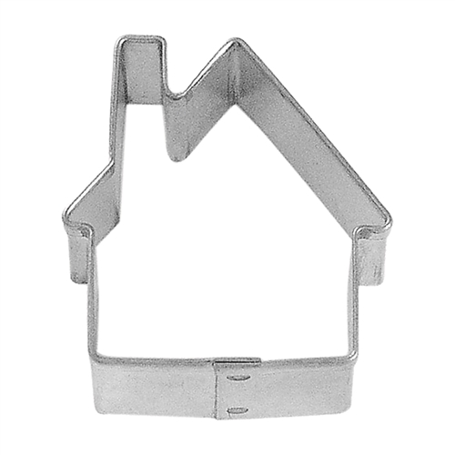 Mini Gingerbread House Tinplated Steel Cookie Cutter