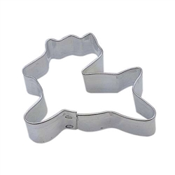 Mini Reindeer Tinplated Steel Cookie Cutter