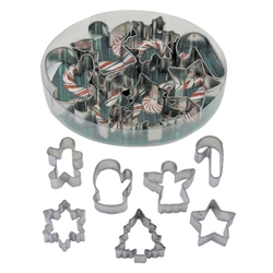 Small Christmas Cookie Cutter 7 Piece Set