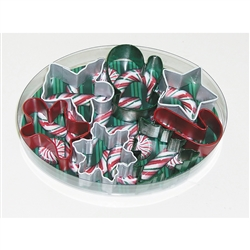Small Christmas Colorful 7 Piece Cookie Cutter Set