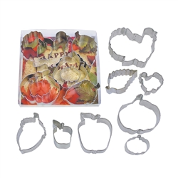 Thanksgiving Cookie Cutter 8 Piece Set