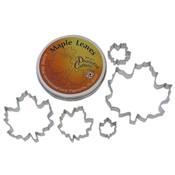 Maple Leaf Cookie Cutter 5 Piece Set In Can