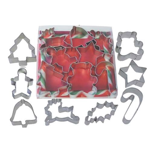 Christmas Cookie Cutter 8 Piece Set