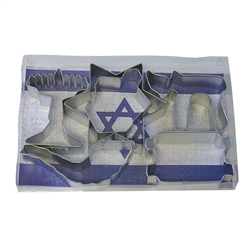Jewish Holiday Cookie Cutter 6 Piece Set