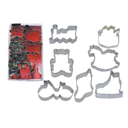 Under The Tree Christmas Cookie Cutter 7 Piece Set
