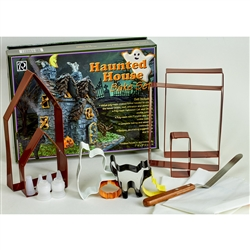9 Piece Haunted House Cookie Cutter Bake Set