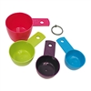 Measuring Cups, Colorful Set of 4