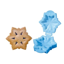 Pocket Sized Snowflake Shaped Small Pie Maker