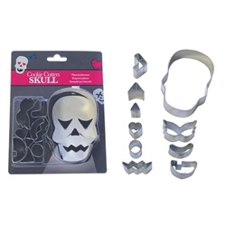 Skull Decorating Cookie Cutter Set - 10 Pieces