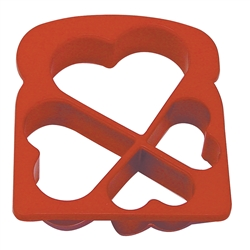 Heart Shape Toast Cutter