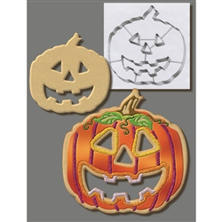 "Pumpkin 7.5"" Cookie Cutter - Stainless Steel"