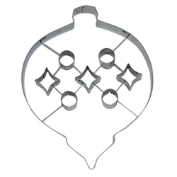 "Ornament 7.5"" Cookie Cutter - Stainless Steel"