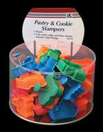 Pastry & Cookie Stampers - Transportation Theme - Bucket of 36
