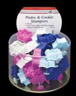 Pastry & Cookie Stampers - Snowflake Theme - Bucket of 36