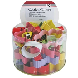 Assorted Colorful Spring Cookie Cutters - 36