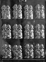 Pilgrims Chocolate Candy Mold