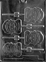 Pilgrim Lolly (Girl) Chocolate Candy Mold