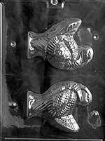 Large Turkey Chocolate Candy Mold