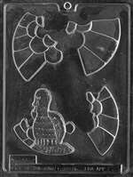Turkey Puzzle Chocolate Candy Mold