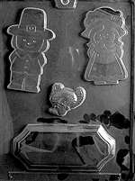 Thanksgiving Centerpiece Chocolate Candy Mold