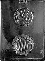 Turkey Pour Box Chocolate Candy Mold