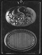 Thanksgiving Pour Box Chocolate Candy Mold