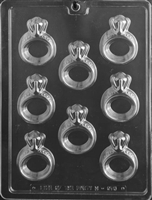 Engagement Rings Chocolate Candy Mold