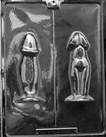 Penis/Female Torso Adult Chocolate Candy Mold