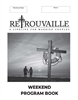 NEW Weekend Program Book B&W - pack of 25